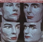 "kraftwerk - the telephone call US 7"" cover art"