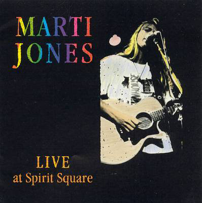 marti jones - live at spirit square cover art