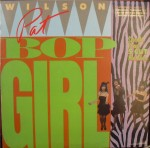 pat wilson - bop girl US EP sleeve