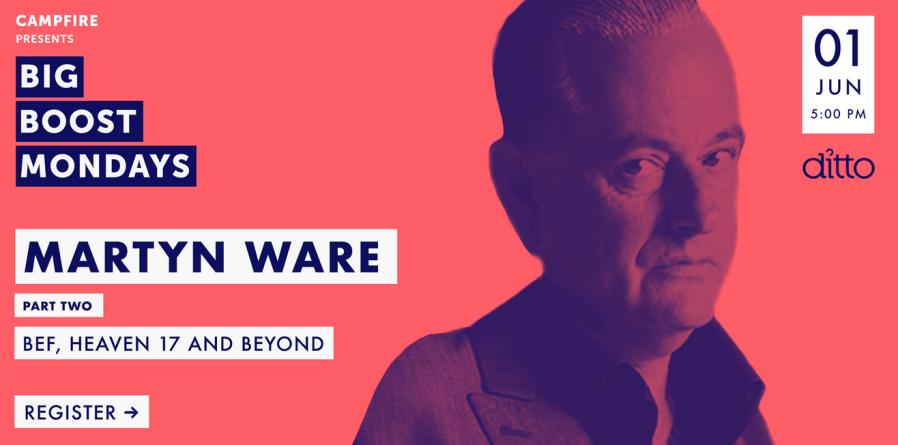 Martyn Ware webinar June 1, 2020
