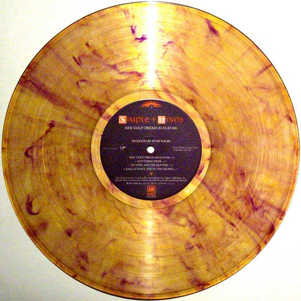 New Gold Dream colored vinyl with US label