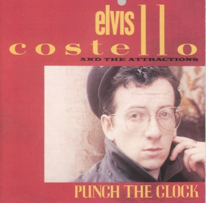 elvis costello + the attractions - punch the clock cover art