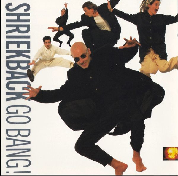 shriekback - go bang cover art