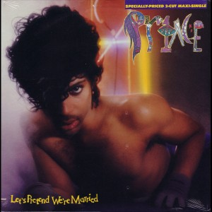 prince lets pretend were married cover art