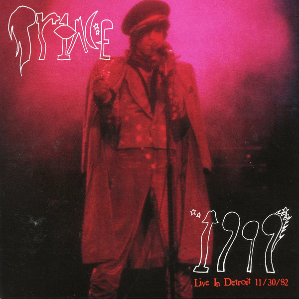prince live in detroit 1999 cover art