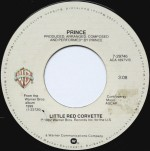prince little red corvette label