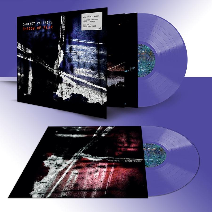 cabaret voltaire - shadow of fear double album purple vinyl