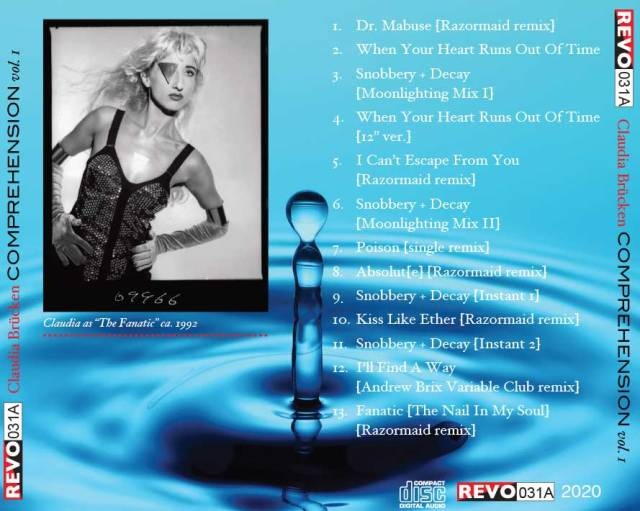 claudia brucken CD back insert