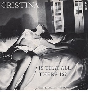 crsitina - is that all there is cover art