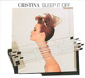 cristina - sleep it off DLX RM EURO CD