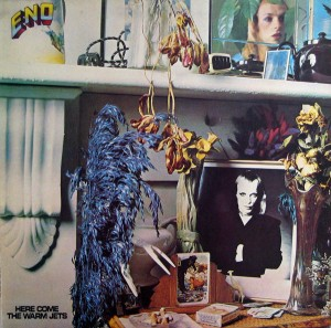 brian eno - here come the warm jets LP cover art