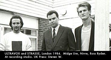 Midge Ure and Strasse ca. 1982