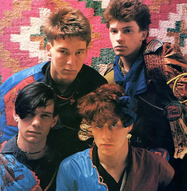 edinburgh's scars band in 1981