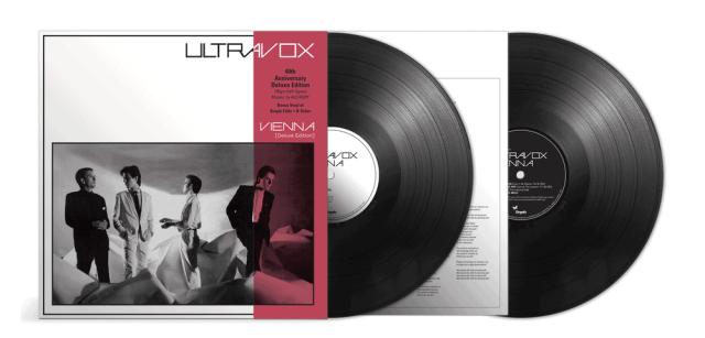 ultravox vienna 2xLP 40th anniversary black vinyl