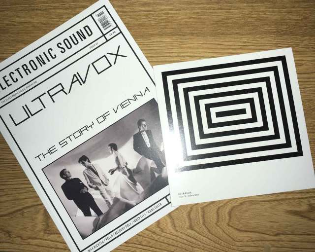 """electronic sound #60 + 7"""" from Ultravox"""