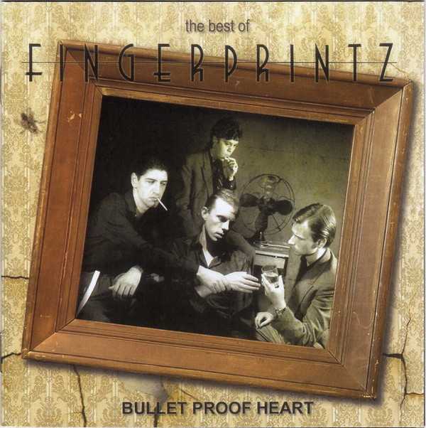 fingerprintz - bulletproof heart cover art