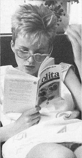 clare grogan reads lolita