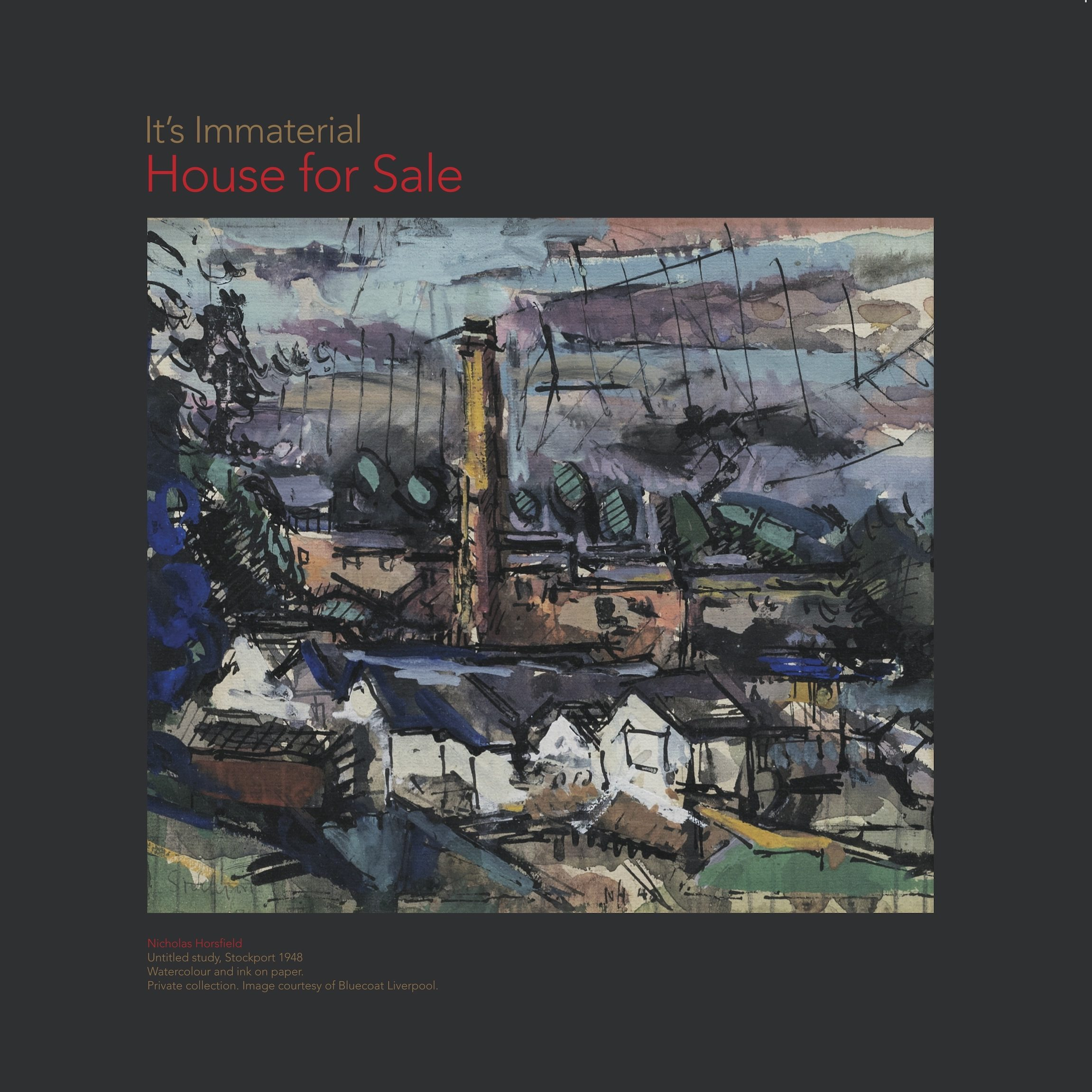 it's immaterial - house for salew cover art