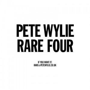 pete wylie rare v4 cover art