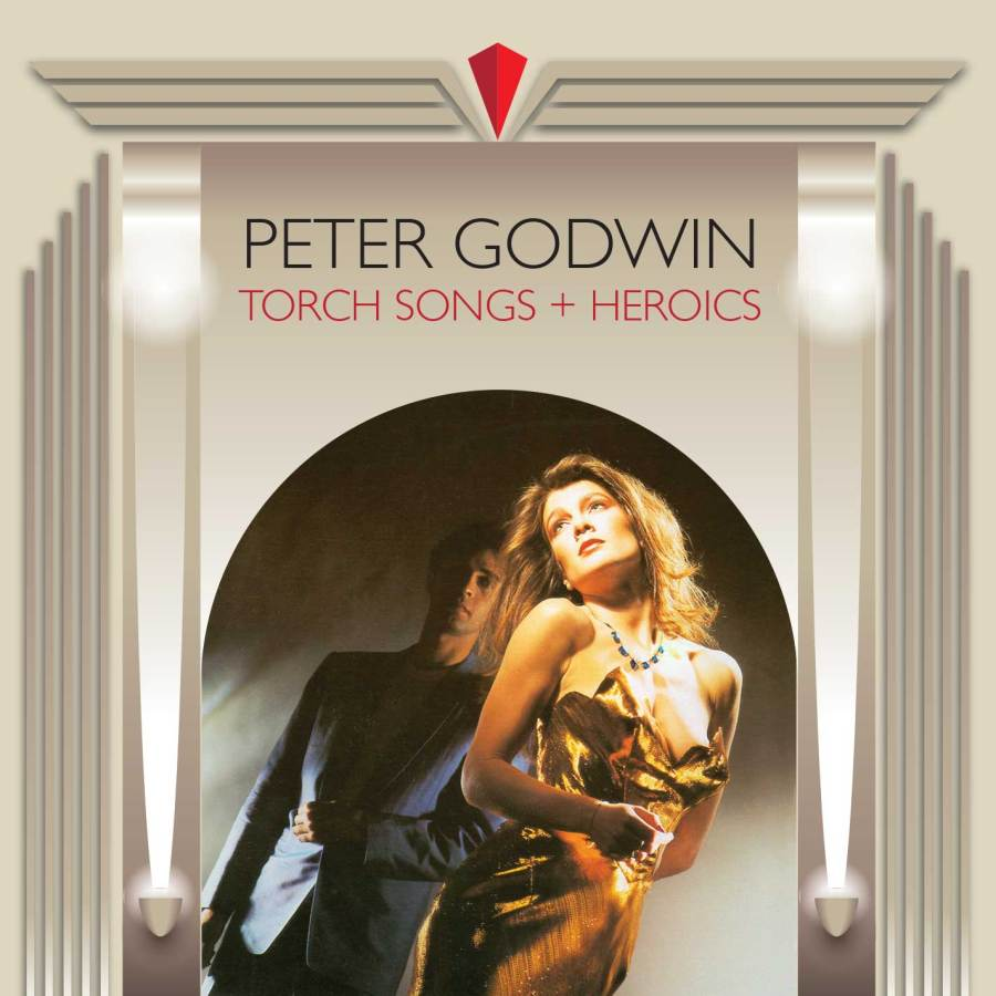 peter godwin torch songs + heroics cover art