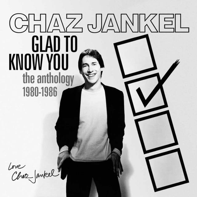 chaz jankel glad to know you box cover art