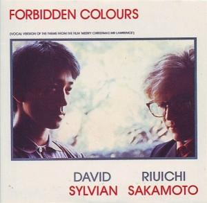 Sylvian - Sakamoto - forbidden colours cover art