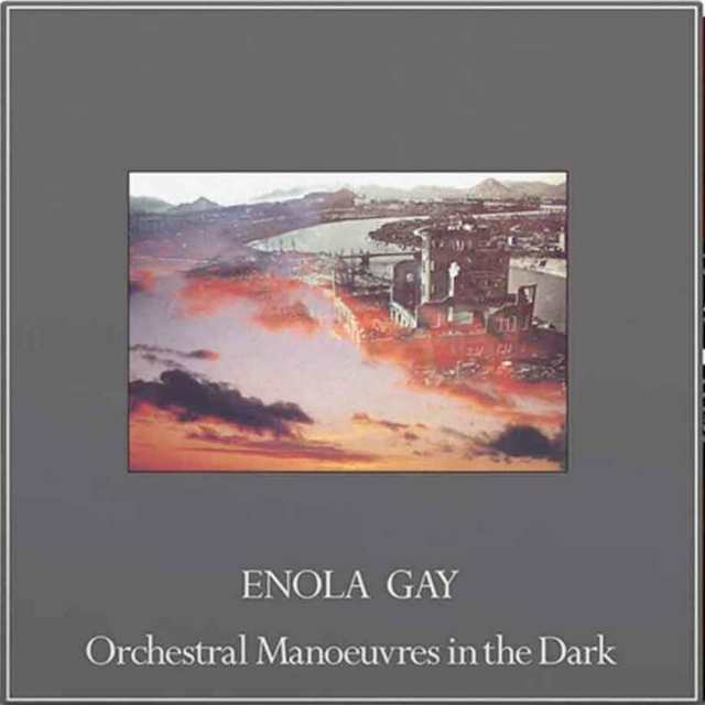 OMD enola gay 2020 cover art