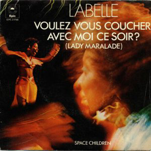 LaBelle - lady marmalade cover art