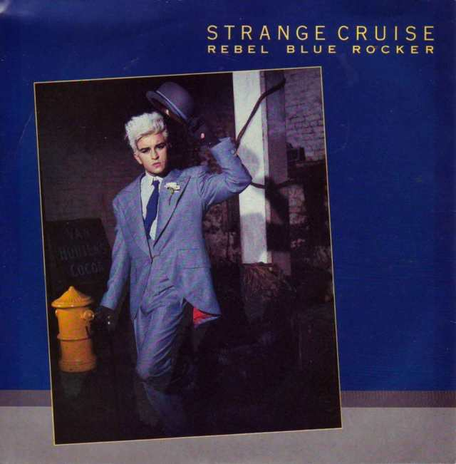 strange cruise - rebel blue rocker cover art