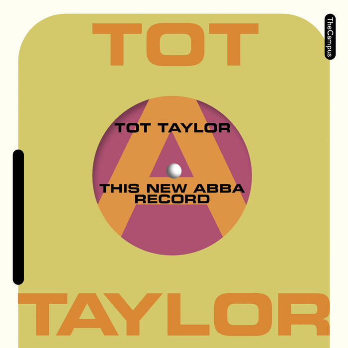 tot taylor - this new abba record cover art
