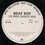 """bisage beat boy white label promo 12"""" single"""