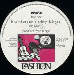 """fasjion - love shadow 12"""" label art"""