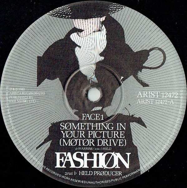 "fashion - something in your picture 12"" label art"