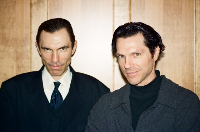 ron mael and russel mael of Sparks in 1994 (c) Gibert Blecken
