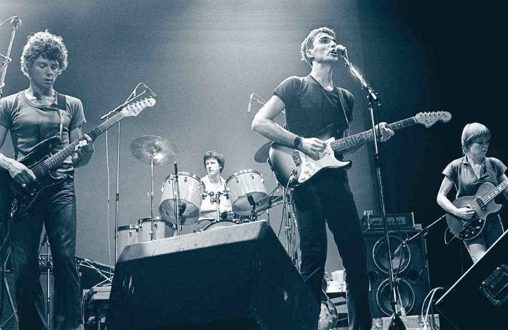 Talking Heads live int he late 70s
