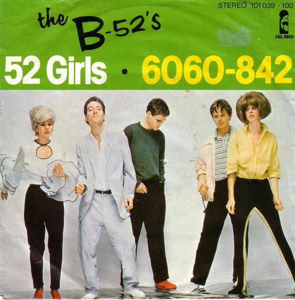 b-52's 52 girls cover art
