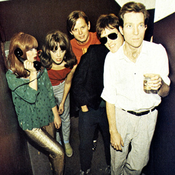 B-52's in a club somewhere; early on