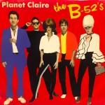 B-52's planet claire coer art