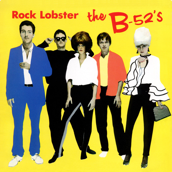 b-52's rock lobster cover art