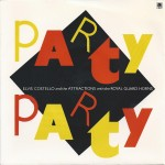 elvis costello + the attractions - part party cover art