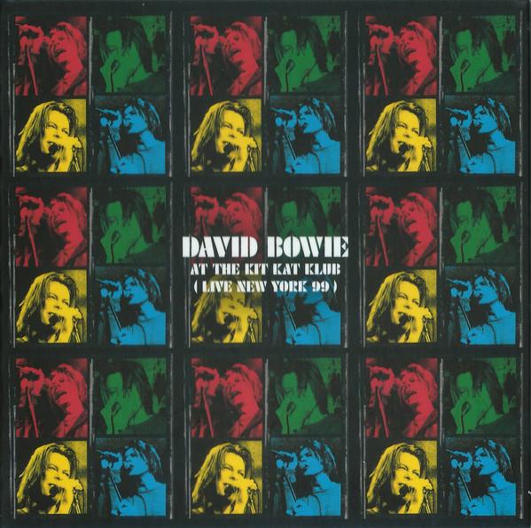 davis bowie live at kit kat club cover art