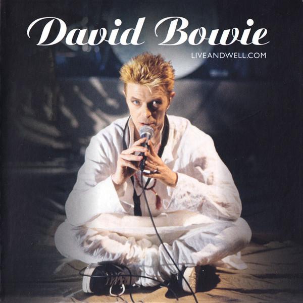 david bowie - liveandwell.com cover art