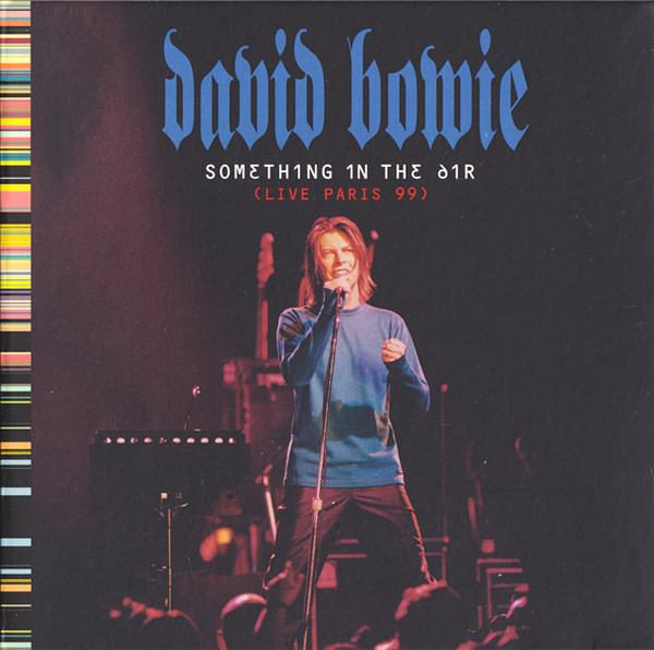 david bowie something in the air cover art