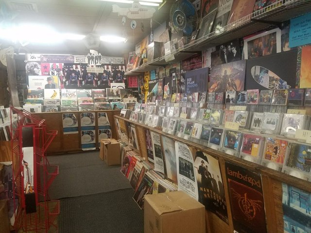 corner of East-West Records