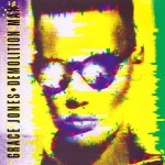 grace jones - demolition man cover artt