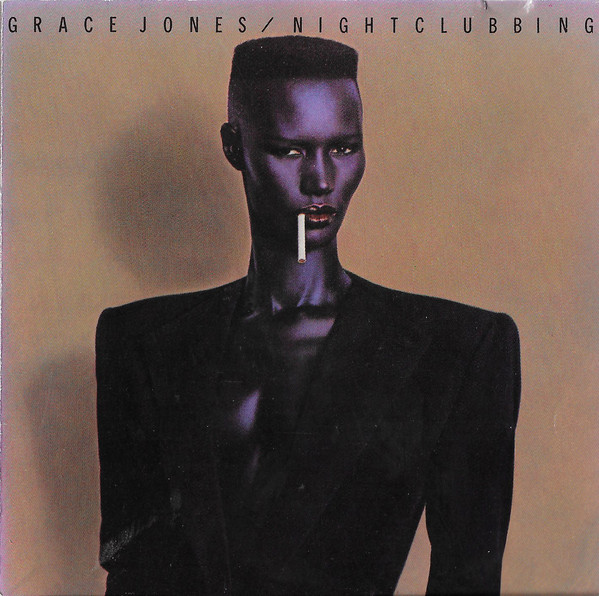 grace jones - nightclubbing cover art