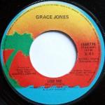 grace jones use me label