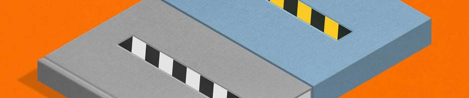 isometric rendering of Haçienda Landscapes slipcase edition
