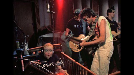 booji boy and DEVO rock out