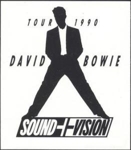 david bowie sound + vision tour 1990